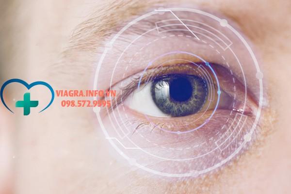 Thuốc Viagra gây ra các tác dụng trên mắt