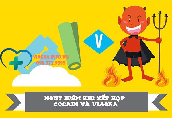Kết hợp viagra và cocain rất nguy hiểm