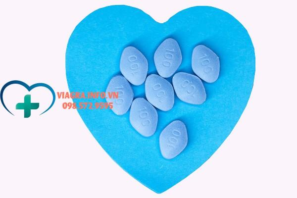 Viên thuốc Viagra 100mg