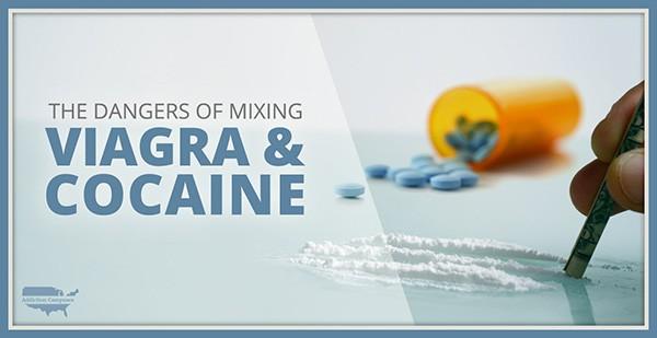 Kết hợp viagra và cocain